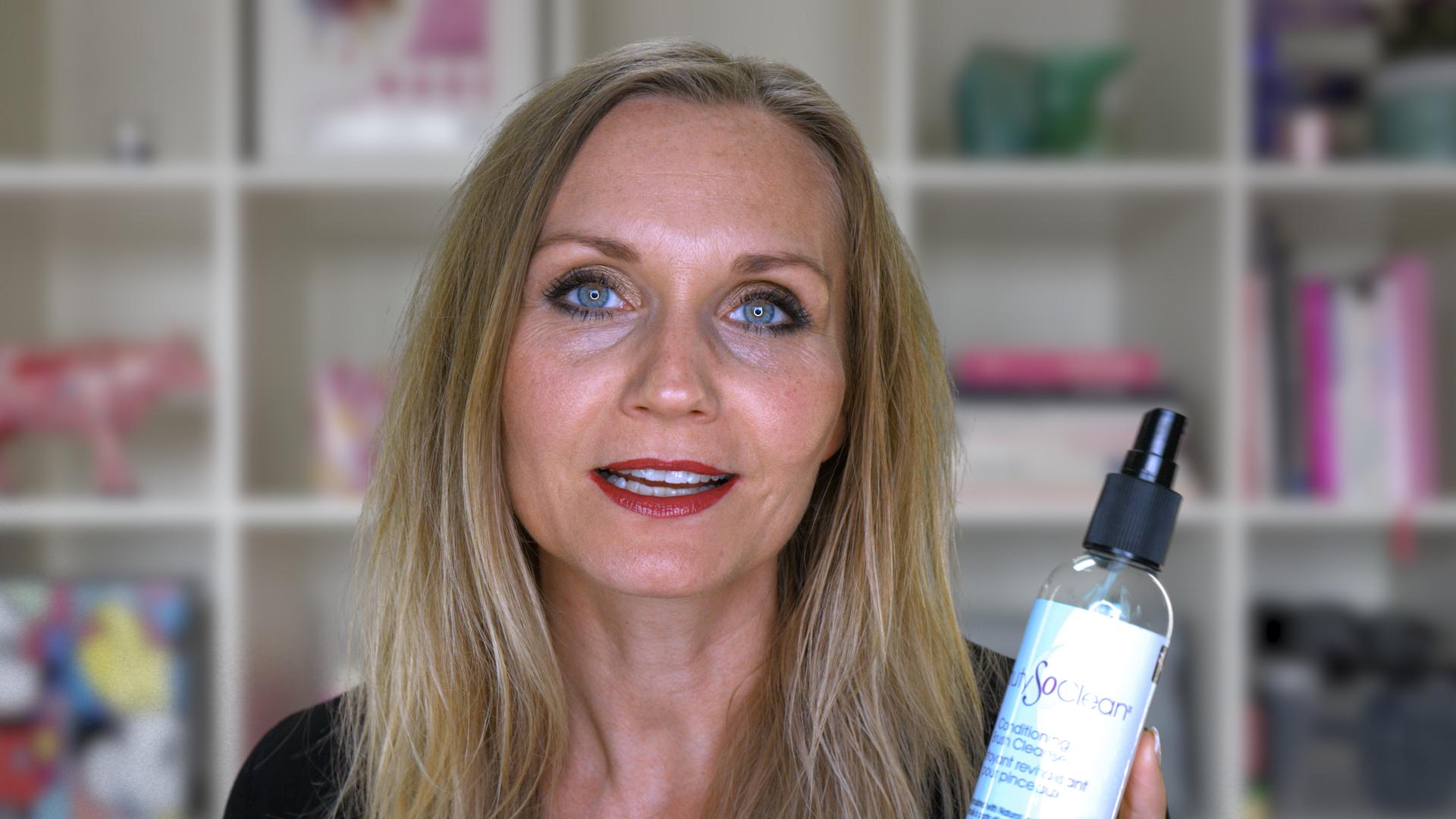 Rengøring af makeup pensler