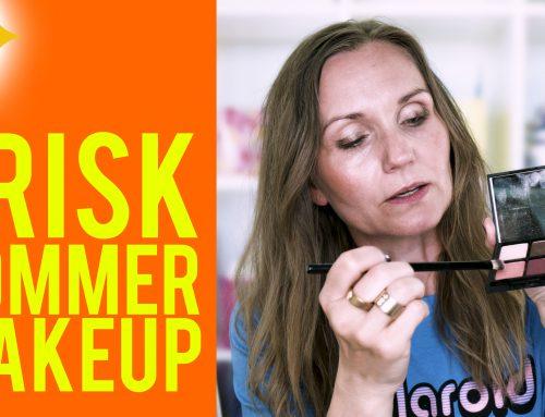 Frisk sommer makeup