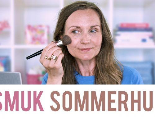 Let makeup til smuk sommerhud