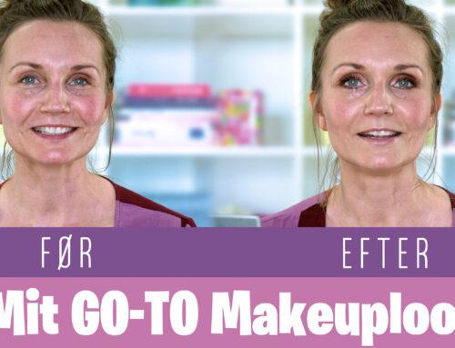 Mit go-to makeup look